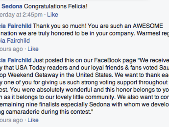 facebook exchange at contest end