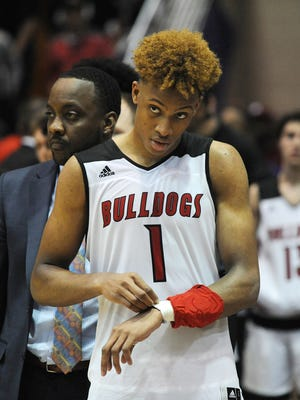 Romeo Langford of New Albany High in Indiana will announce his college choice on April 30.