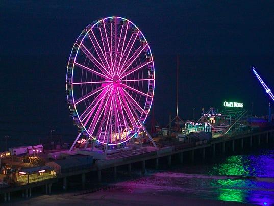 The Wheel on Steel Pier
