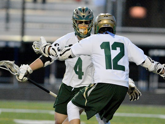 Red Lion vs York Catholic York-Adams boys' lacrosse semifinals