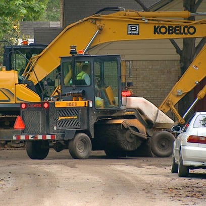 Construction projects have been slowed to a crawl by