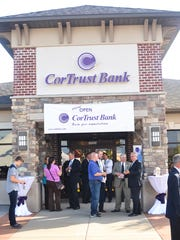 Grand opening for a CorTrust Bank in 2015.
