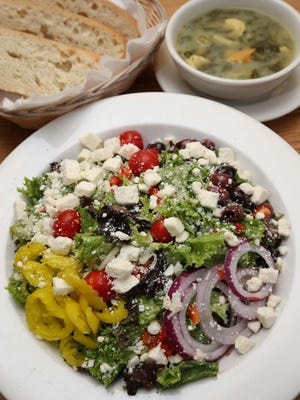 The soup and salad lunch special at Bambino's on Battlefield Road is a favorite of reader Kat Minx.
