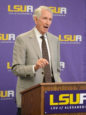 Charlie Weems, who was named a Louisiana Legend by Louisiana Public Broadcasting. has been a key supporter of LSU of Alexandria.
