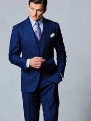 Michael Andrews Bespoke suits.