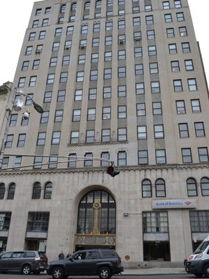 The facade of 20 S. Broadway in Yonkers.
