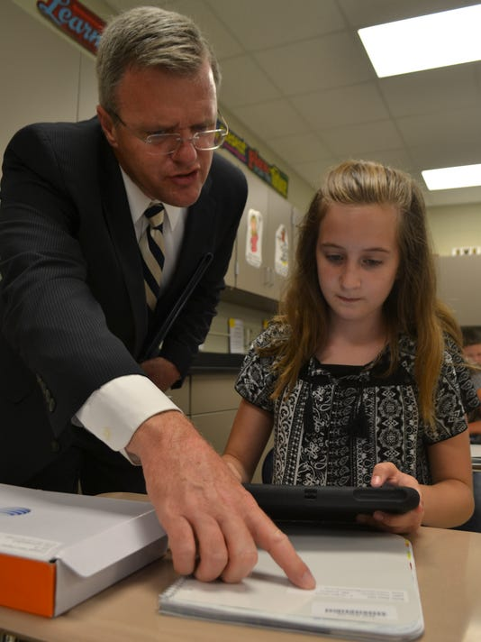 Pickens County Tablet Rollout