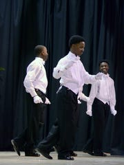 Twelve high school boys from Anderson and Oconee counties dance Saturday as part of the 2017 Young Esquire Beautillion.