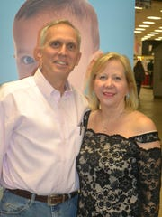 Stephen Almond, MD, chief of staff, Driscoll Children's Hospital, and Suzanne Almond