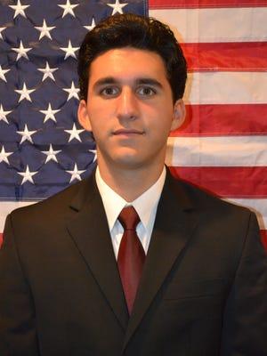 Andrew Fabiano of Lebanon to attend Merchant Marine Academy.