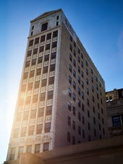 The 14-story Wurlitzer Building is now The Siren Hotel.