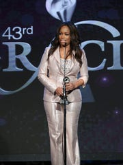Pam Oliver was among the honorees at the 43rd annual