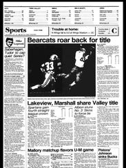 BC Sports History - This Week of Oct. 22, 1985
