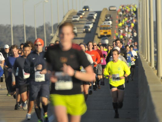 Double Bridge Run 2013, Pensacola, Gulf Breeze Pensacola Beach
