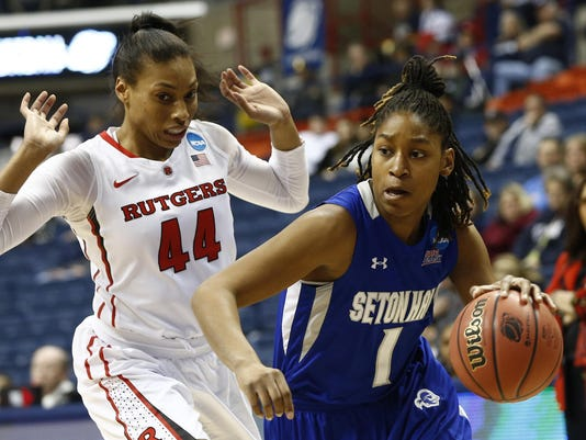NCAA Womens Basketball: NCAA Tournament-First Round-Seton Hall vs Rutgers