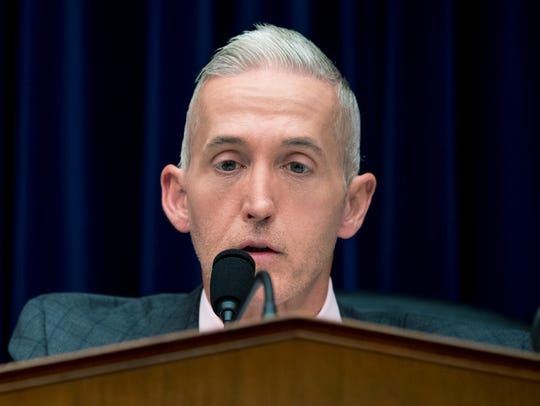 Chairman Trey Gowdy, R-S.C., speaks Tuesday at a House