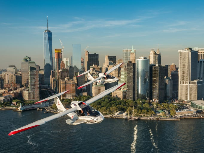 The ICON A5 is made to be so intuitive that nearly