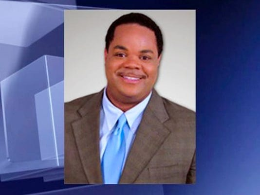 This undated photo provided by WDBJ-TV, shows Vester Lee Flanagan II, who killed WDBJ reporter Alison Parker and cameraman Adam Ward in Moneta, Va., Wednesday, Aug. 26, 2015. Flanagan was a former employee at WDBJ who appeared on air as Bryce Williams. (WDBJ-TV via AP)