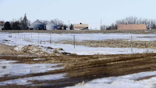This is the site of a proposed Sonstegard Foods chicken farm near Parker in Turner County.