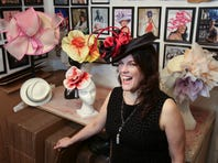 Manhattan milliner Christine Moore creates Kentucky Derby hats for the stars