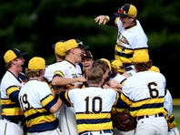 Watch: Grand Ledge baseball celebrates regional title