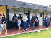 Guam DOE superintendent, board members lead Chief Brodie walk-through