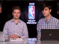 Louisville and Kentucky stars in the 2018 NBA draft
