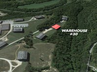A Google Earth view of the Barton 1792 distillery warehouse collapse