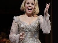 """In this March 25, 2011 photo, Renee Fleming, as The Countess, performs during the final dress rehearsal of Richard Strauss's """"Capriccio"""" in the Metropolitan Opera at New York's Lincoln Center."""