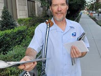 The National Association of Letter Carriers selected Charlie Rose for the Special Carrier Alert award.