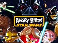 Those wacky Angry Birds are joining forces with the crew from Star Wars.
