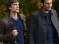 On USA's 'Covert Affairs,' Auggie (Christopher Gorham) and Annie try to repay their Mossad colleague, Eyal (Oded Fehr, right), who rescued her from a Russian jail earlier in the season.
