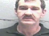 Mugshot of Edward Bagley following his arrest.