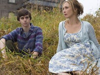"""You know that Norman must end up as this serial killer many years down the line, but you have this weird sense of hope he won't make it there,"" says Freddie Highmore of the prequel version, with Vera Farmiga as mom Norma."