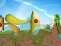 """""""World of Goo HD"""" by 2D Boy lets kids construct structures out of sentient balls of goo."""