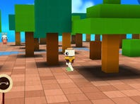 Mickey needs water so players help him by drawing paths in dirt under the ground, but by also controlling winds and weather.