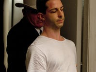 """Jeremy Strong as Lee Harvey Oswald in """"Parkland."""""""