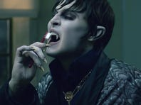 """Johnny Depp as Barnabus Collins in a scene from the motion picture """"Dark Shadows."""" Photo by Peter Mountain, Warner Bros. Pictures [Via MerlinFTP Drop]"""
