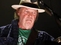 Neil Young is among the acts performing in the Global Citizen Festival in New York's Central Park this weekend.
