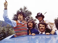 You've got an invitation to check out the long-out-of-print 1967 film 'Magical Mystery Tour' starring Paul McCartney, George Harrison, John Lennon and Ringo Starr.