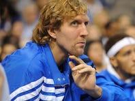 Mavericks forward Dirk Nowitzki had knee surgery and won't return until late December or January.