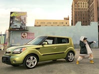 The Kia Soul was made famous by the hip-hop hamsters.
