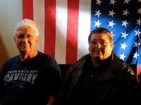 Vietnam Veterans, from left, Roger McConnell, Bill Garberg and Wally McManigle started the organization Vets4Vets to help military veterans connect with services and resources for everyday life.