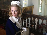 Nicole Kidman is filming 'Grace of Monaco' in Grasse on the French Rivieria.