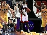 1998: The Shot. Valparaiso's Bryce Drew hit a game-winning three-pointer.