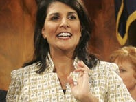 South Carolina Gov. Nikki Haley is mulling a replacement for outgoing GOP Sen. Jim DeMint.