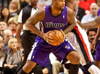 Sacramento Kings center DeMarcus Cousins has been suspended by the league for hitting Dallas' O.J. Mayo