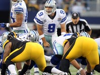 Cowboys quarterback Tony Romo has been in command during the team's December push to the playoffs.