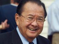 Sen. Daniel Inouye, D-Hawaii, died Monday. He was 88.