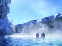 Rocky Mountain hot springs offer winter decadence